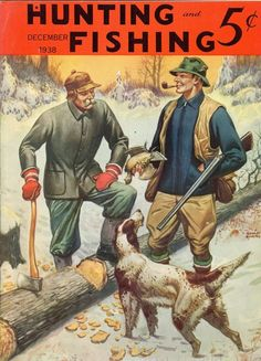 Hunting and Fishing--Dec. 1938-