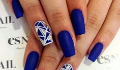navy blue nail designs - Szukaj w Google