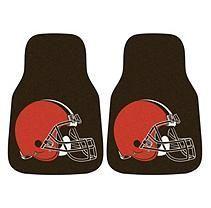 NFL - Cleveland Browns 2-pc Carpet Car Mat Set
