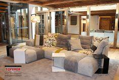 #InnenarchitekturToferer Modular Sofa, Designer, Couch, Furniture, Home Decor, Classic Furniture, Furniture Shopping, Living Room Ideas, Interior Designing