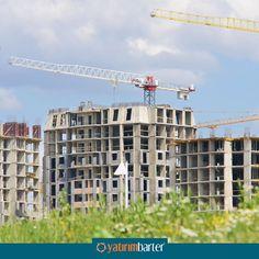 İnşaat sektöründe firmalar, nakit sıkışıklığı nedeniyle aksayan inşaatlarını barter sisteminden elde ettikleri barter kredisiyle tamamlayabilirler