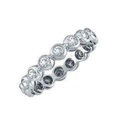 Memory Diamantring mit 2.00 Karat Diamanten im Brillantschliff aus 585er Weißgold für nur 2999.00 Euro bei www.juwelierhausabt.de