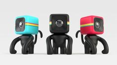 Complete retro look combined with a monkey, what's not to like....it's the Polaroid Cube action camera! :-)