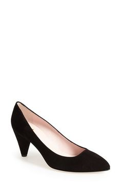 kate spade new york kate spade 'yanni' suede pump (Women) available at #Nordstrom
