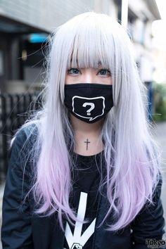 Resultado de imagem para pastel goth hair