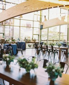 Indoors, outdoors, these tables look amazing anywhere! Also, how about this venue 😍 Wedding Table, Rustic Wedding, Eagle Idaho, Meridian Idaho, Wedding Budget Breakdown, Boise Idaho, Outdoor Ceremony, Reception, Indoor