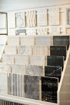 Surfaces in the Georgetown showroom Interior Design Showroom Showroom Interior Design, Tile Showroom, Furniture Showroom, Home Decor Furniture, Furniture Makeover, Trendy Furniture, Design Furniture, Furniture Ideas, Modular Furniture