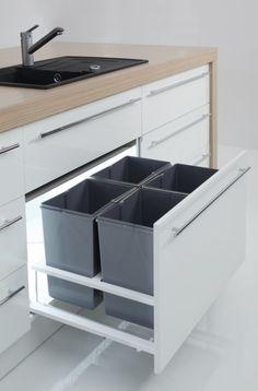 Luxury Kitchen Design, Kitchen Room Design, Contemporary Kitchen Design, Kitchen Cabinet Design, Kitchen Interior, Kitchen Decor, Kitchen Drawer Organization, Diy Kitchen Storage, Modern Kitchen Cabinets
