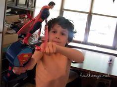 Superman Flying Hero Giveaway