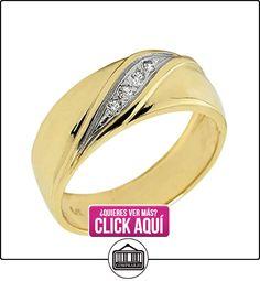 Pequeños Tesoros - Anillos Hombres Alianza De Boda 10 Kt Oro 471/1000 Oro Amarillo Diamante  ✿ Joyas para hombres especiales - lujo ✿ ▬► Ver oferta: http://comprar.io/goto/B0127VJKD2