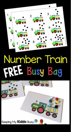 This page contains affiliate links. Read Full Disclosure Welcome! I hope you enjoy these FREE activities that are geared for year olds. Alphabet Activities This is an easy way to teach childre… 3 Year Old Activities, Kindergarten Math Activities, Autism Activities, Counting Activities, Alphabet Activities, Educational Activities, Toddler Activities, Preschool Activities, Trains Preschool