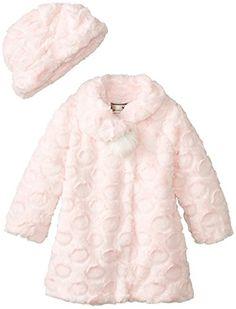 Widgeon Little Girls'  A-Line Single Pom Pom Coat and Hat, Candy Dot Pink, 6 Widgeon http://www.amazon.com/dp/B00JY6X6YS/ref=cm_sw_r_pi_dp_naQVub1GPCDQB