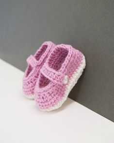 My colleague and friend was expecting her first baby. She was thrilled when I gave them to her!  I had crocheted before - but mostly just granny squares. It took me a few attempts to get the soles the right size. I was trying to make the 0-6 months size but they kept ending up too small! As I crochet very tightly, I ended up making the bigger size. It's an easy pattern and is very quick to complete if you don't have any tension issues.