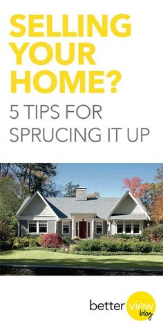 5 tips for selling your home.