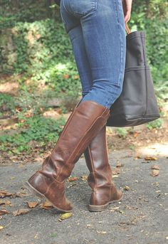 paige riding boot cognac