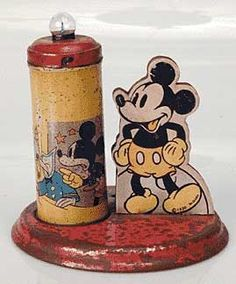 1936 Mickey Mouse candle light