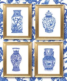 Another great find on #zulily! Chinoisiere Vases Print #zulilyfinds