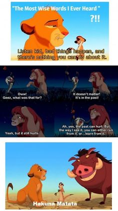 This is the LION KING.. how can we not learn something from this CLASSICAL?!