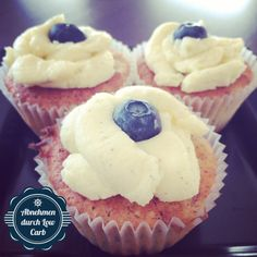 Low Carb Vanille Cupcakes  #LCHF #Abnehmendurchlowcarb #Abnehmen #Diät #Diet #Lowcarb #Cupcakes #Lowcarbhighfat