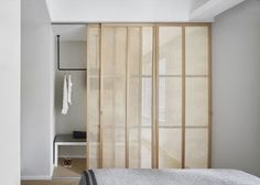 Home Interior Inspiration Sliding Closet Doors Save The Floor Space Interior Inspiration Sliding Closet Doors Save The Floor Space Cheap Home Decor, Bedroom Interior, Bedroom Design, Sliding Closet Doors, Furniture, Home Remodeling, Interior, Home Decor, House Interior