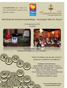 Obra do Berço 2014 - Complements na Responsabilidade Social.