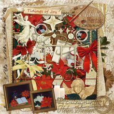 Artistic Heritage Collection - Tidings of Joy Mega Kit #christmasinjuly #theStudio #digitalscrapbooking