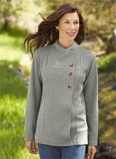 Just found this Knit Cardigan Long-Sleeve Shirt - Textured-Knit Asymmetrical Cardigan -- Orvis on Orvis.com!