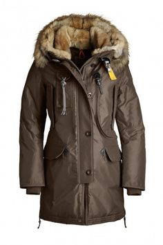 Women's Parajumpers Kodiak Down Jackets Brown 72% off. Cheap On Sale.