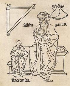 Alfraganus - Abū l-ʿAbbās Aḥmad ibn Kathīr al-Farghānī di Farghāna, Uzbekistan (805-861) astronomo, costruttore di strumenti scientifici Astronomy