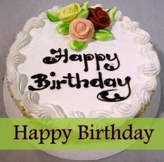 Images of Birthday cakes for friends