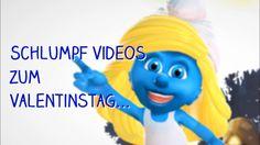Schlumpf Video Card KOSTENLOS an die LIEBE senden VALENTINSTAG