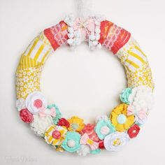 DIY Ribbon Wreaths - Craft a Wreath for Your Door - Good Housekeeping