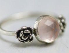 #pearl #rose #ring