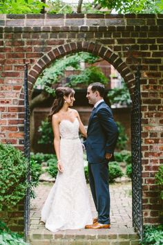 The way these two look at each other: http://www.stylemepretty.com/pennsylvania-weddings/philadelphia/2014/05/06/romantic-wedding-at-the-colonial-dames-in-philadelphia/ | Photography: Redfield Photography - http://www.redfieldphoto.com/