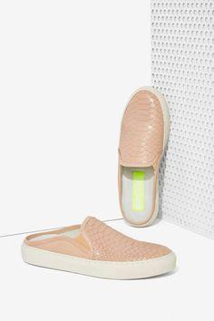 Bronx Kay Kay Leather Slide Sneaker - Sneakers