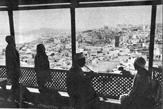 Tangiers 1940 - Cafe with a View of the Town - James Jarche, Photographer