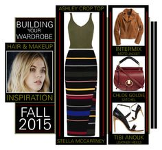 """""""Building Your Wardrobe Fall 2015 - Long Stripe Skirt"""" by latoyacl ❤ liked on Polyvore featuring STELLA McCARTNEY, Chloé, Exclusive for Intermix and TIBI"""