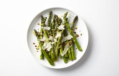 Toasted seeds add crunchy texture to this flavorful side dish. Dressing them with a little olive oil and seasoning with salt and pepper makes it that much better.
