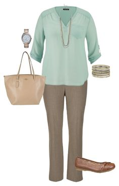"""Plus Size Work Outfit"" by jmc6115 ❤ liked on Polyvore featuring maurices, TAXI and Michael Kors"