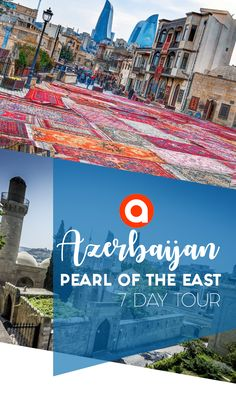 #Baku , Gobustan Reserve, Gala  and Lahij villages, Sheki city – these are only few stops of the amazing 7 day #tour around  #Azerbaijan. And of course you`ll be able to see the Great #Caucasus.