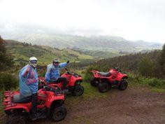 Una vista de la aventura en Cuatrimotos http://condetravel.travel/ #Cuatrimotos