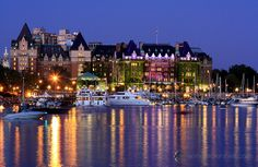 The Empress Hotel, Victoria, British Columbia, Canada