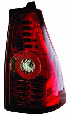 IPCW LEDT-2003CR Ruby Red LED Tail Lamp - Pair Direct OEM fit replacement. Compliant with FMVSS-108/DOT/SAE. Brighter and quicker light-up with better visibility. Lasts longer than non- LED aftermarket lights. Fully street legal.  #IPCW #Automotive_Parts_and_Accessories