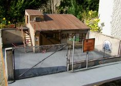 Auto Garage Diorama