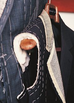 Bespoke Anatomy of a suit