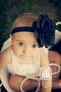 Such AN Adorable Baby Girl Portrait Idea! ... Someday BUT not like tomorrow.