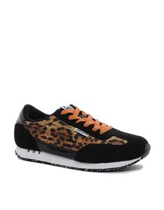 Hype Leopard Runner Trainers