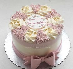 Ideas birthday cake decorating flowers ideas for 2019 Cake Decorating Videos, Birthday Cake Decorating, Cake Decorating Techniques, Cake Birthday, Birthday Cake Designs, Birthday Design, Gateau Iga, Bolo Da Peppa Pig, Cupcake Decoration