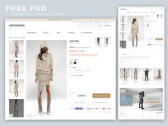 ⬇ Free download: E-Commerce Product Page PSD