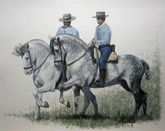 J.Ferre.Clauzel - CABALLO/ HORSE